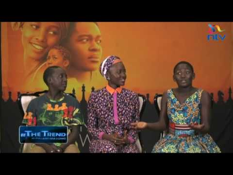 #theTrend: Meet the stars of Queen of Katwe