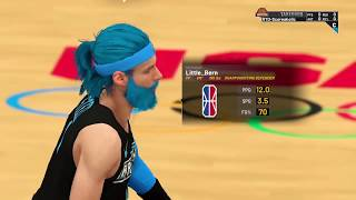 Breakout Gaming #1 Team vs LyfeStyle NBA 2k19 Comp Games 2k18 Made Players