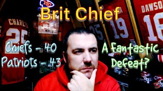 NFL 2018 - Week 6 - Chiefs lose to Patriots, a fantastic defeat? - The Brit Chief