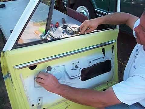Disassembling A 67-72 Chevy Truck Door