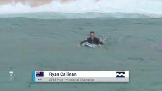 Bailey vs. Callinan vs. Brand vs. Meister - Trials Finals H1 - Billabong Pipe Masters 2018