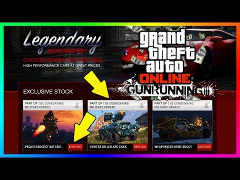 GTA ONLINE GUNRUNNING DLC - HOW MUCH MONEY YOU'LL NEED TO BUY ALL NEW CONTENT & EVERYTHING UPDATED!