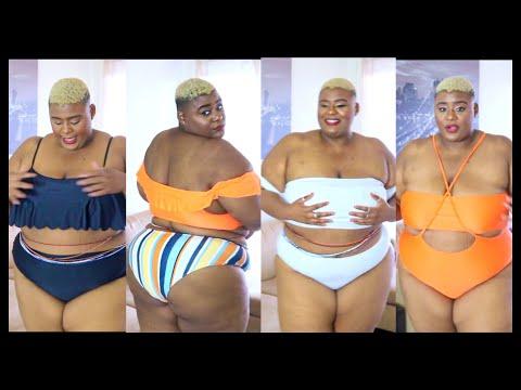 Best Plus Size Bathing Suits?!?!  // SHEIN Plus Size & Curvy Bathing Suit Haul