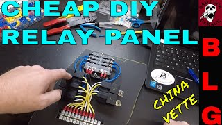 HOW TO BUILD A RELAY PANEL