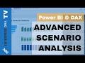 Advanced Scenario Analysis Techniques For Power BI w/DAX