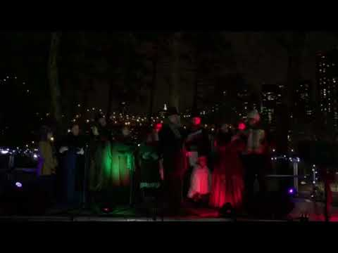 Main Street Theatre & Dance Alliiance Caroling At Roosevelt Island Tree Lighting Ceremony