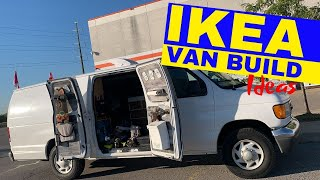 Building Out Your Campervan At Ikea | Cheap Van Build Ideas