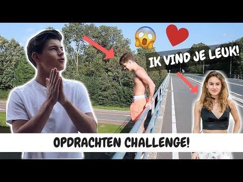 VAN EEN BRUG AF SPRINGEN & MAY PRANKCALLEN! OPDRACHTEN CHALLENGE | Vincent visser