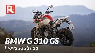 BMW G 310 GS, PROVA SU STRADA DI RED