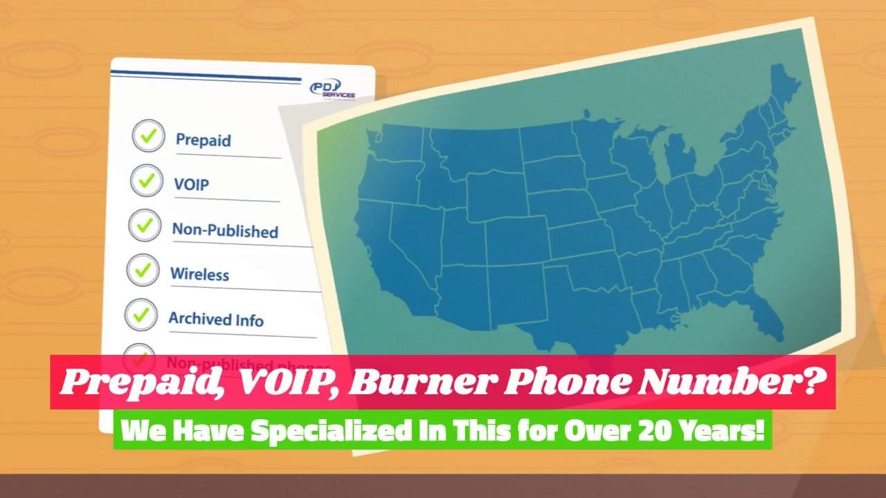 PDJservices com - PrePaid/VOIP/Burner Phone Info
