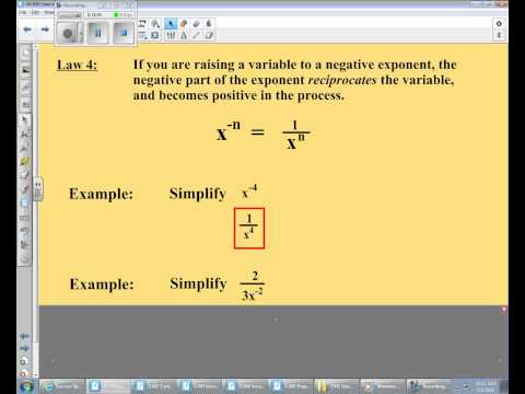 2 5 13 A1 Laws of Exponents