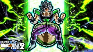 NEW MOVIE ANIMATED BROLY TRANSFORMATIONS PACK! Dragon Ball Xenoverse 2 Gameplay