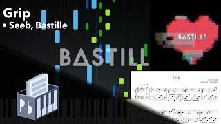 Grip - Seeb, Bastille [Piano Tutorial + Sheets/MIDI] (Synthesia) // Pianobin