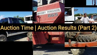 Auction Time | Auction Results (Part 2)