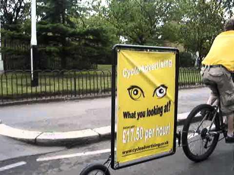 Bicycle Advertising UK 2