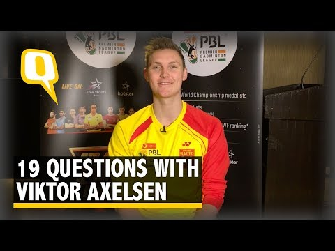 Viktor Axelsen at His Candid Best! | The Quint