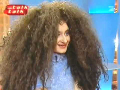 Nese Melike Pedmezci-Unsal - Crazy long dreadlocks #1