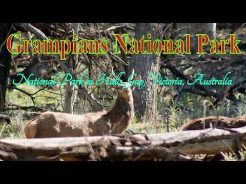 Visiting Grampians National Park, National Park in Halls Gap, Victoria, Australia