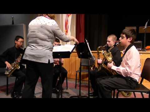 SPRY Middle School Saxophone Quartet