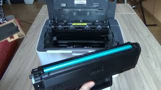 HP Laser 107a 107w - Replacing the Toner Cartridge W1106A