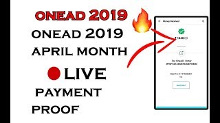 ⚪OneAD 2019 April My Payment 💰 Proof LIVE Video 🔥 🔥 🔥