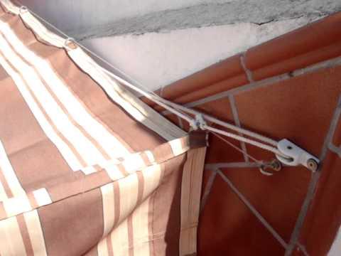 Toldo monofilamento youtube - Como hacer un toldo ...