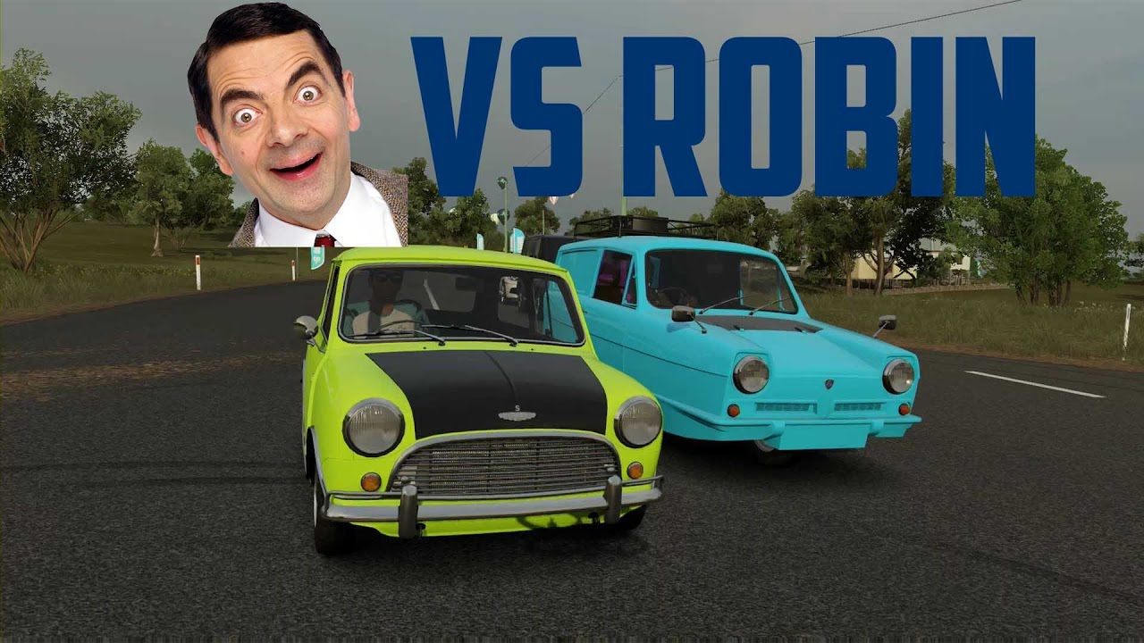 Mr Bean Vs Reliant Robin Forza Horizon 3 Ft