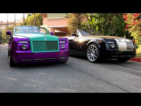 RDBLA Crazy Purple Rolls Royce, Rodeo Dr has NEVER seen this