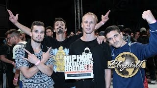DE KLAN vs SONS OF USRR - Finał ekipa na HIP HOP CONNECTION ARENA 2016