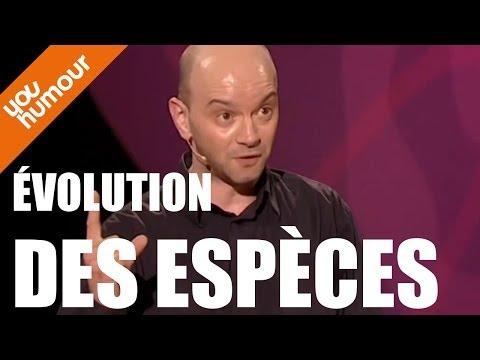 JEROME DE WARZEE revisite l'évolution des espèces !