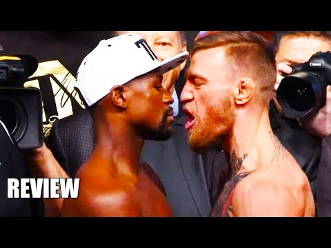 Conor McGregor Floyd Mayweather Weigh In Stare Down REVIEW/Explanation