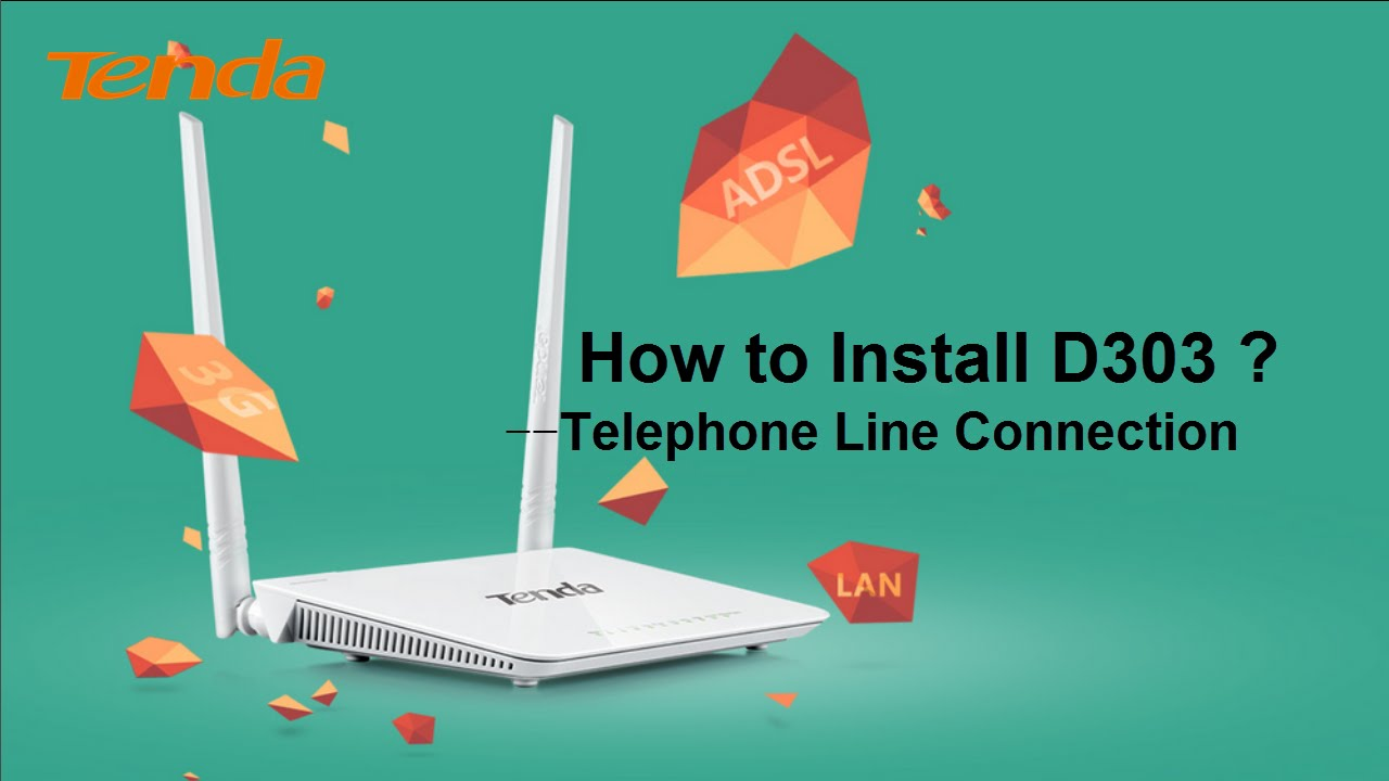 How to install D303 ? -Telephone Line Connection (2016)