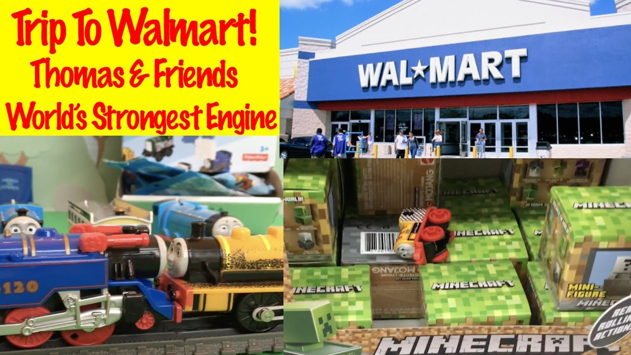Thomas And Friends Trip To Walmart Worlds Strongest Engine Fun Toys