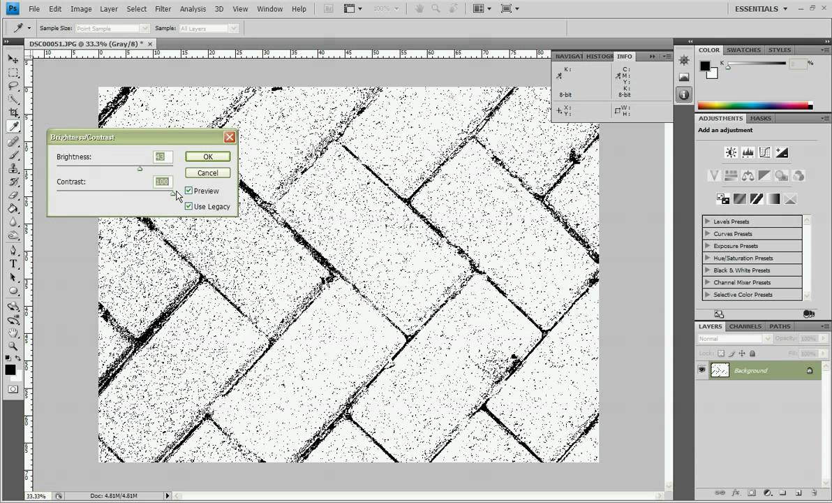 How to Map an Image Using Photoshop - The Stitchin Mommy