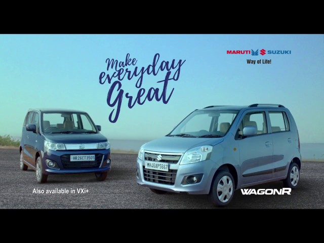 WagonR | Make Everyday Great | Launch TVC