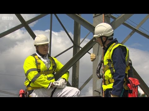 National Grid Overhead lines on Countryfile