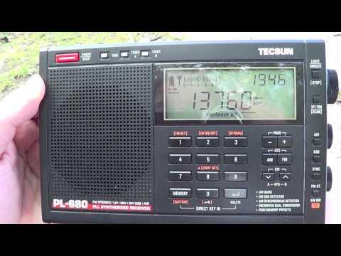 Voice Of Korea In North Korea On Tecsun PL 680 DXpedition