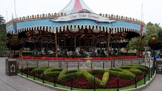 King Arthur Carousel Full Ride Disneyland