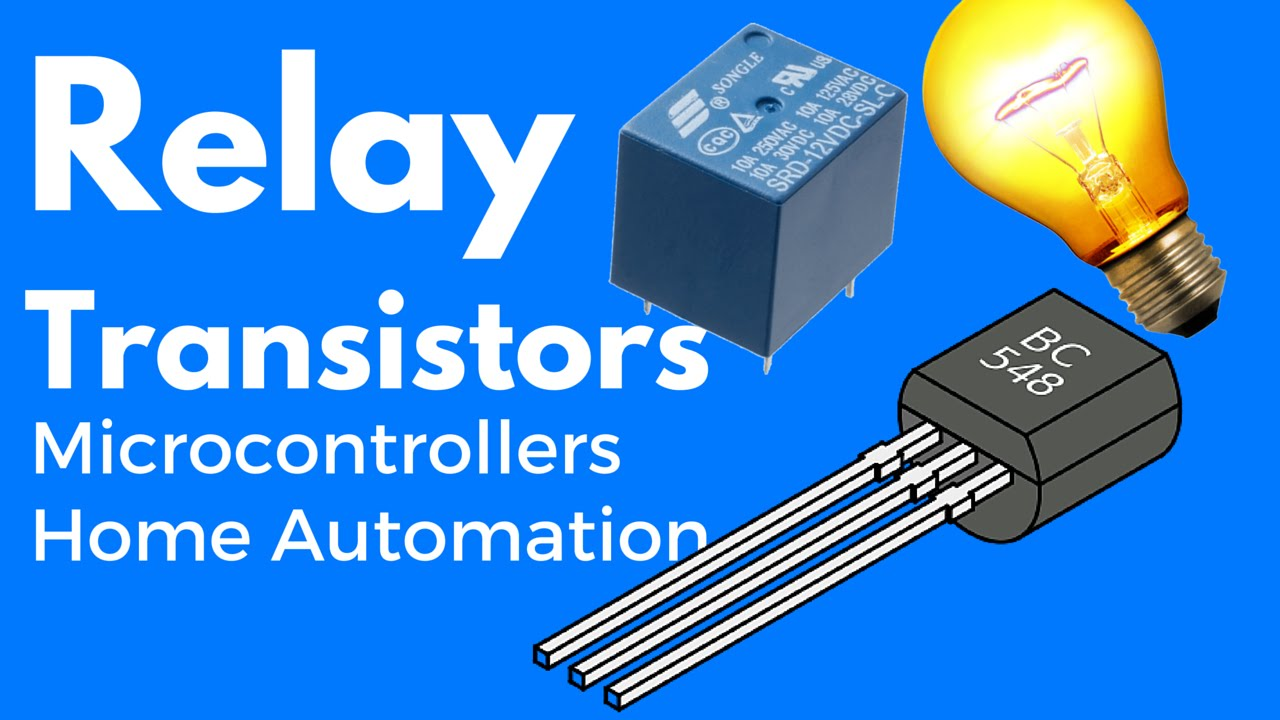 Simple Transistor Relay Circuit Transistor As A Switch YouTube - Relay Circuit With Transistor
