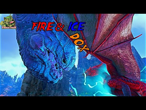 FIRE&ICE THE ARK SAGA ! HARDEST MOD IN ARK DINO OVER HAULX (ARK from YouTube · Duration:  33 minutes 23 seconds