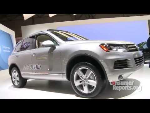 2011 Volkswagen Touareg - 2010 NY Auto Show   Consumer Reports