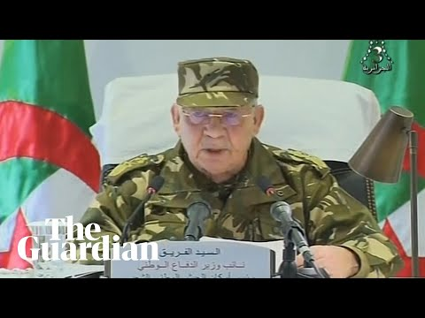 Algerian army chief calls for president Bouteflika to be declared unfit to lead