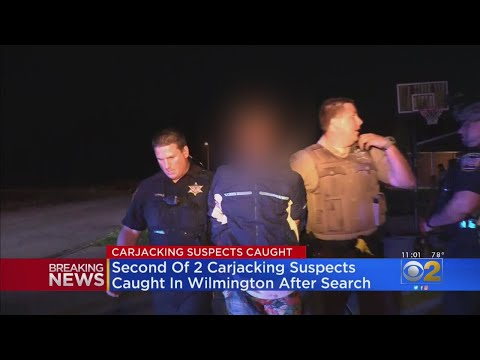 Chris Michaels -  Carjacking Suspects In Custody After Chase In  s/w suburban Wilmington