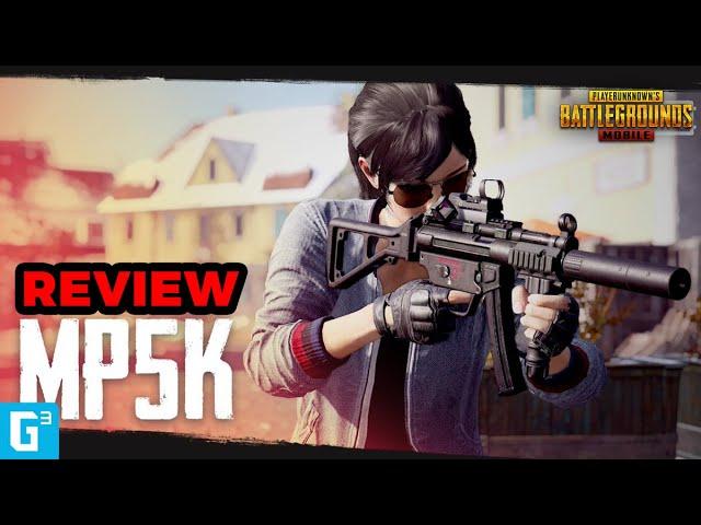 PEMUSNAH JARAK DEKAT! REVIEW SMG MP5K PUBG! - TIPS DAN TRIK | PUBG Mobile