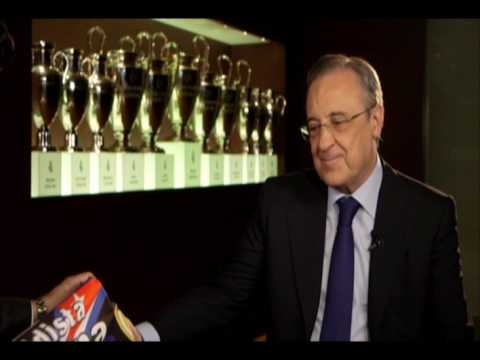 Entrevista a Florentino Perez por Hector Villar