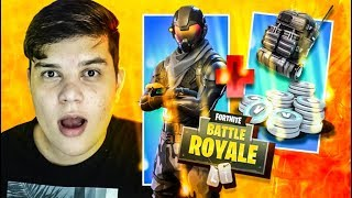 CHEAPEST SKIN OF FORTNITE (CORRUPT AGENT) ‹ JUAUM ›