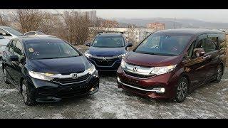 Honda Stepwgn Spada или Honda Shuttle? Битва: Универсал или Минивен