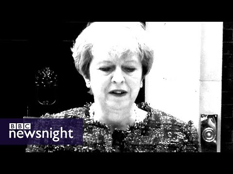 'May's election gamble': 2017 general election montage - BBC Newsnight