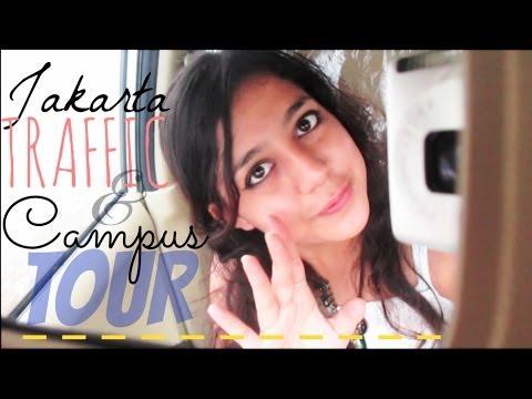 JAKARTA TRAFFIC & CAMPUS TOUR! | VLOG