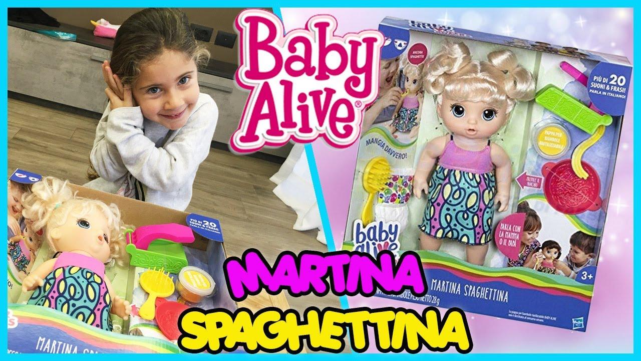 Baby Alive Martina Spaghettina Youtube